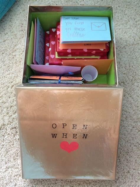open  letters diy christmas gifts  boyfriend