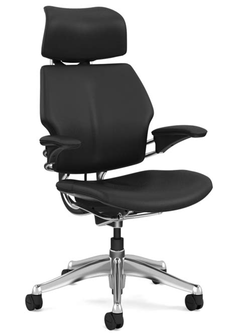 humanscale freedom chair executive with headrest