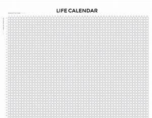 this is your life template - your life in weeks wait but why