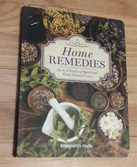 Home Remedies Book Review Healthy Happy Thrifty Family