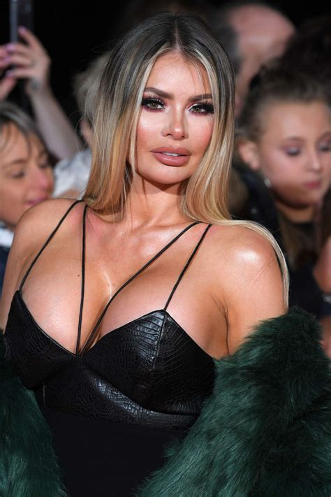 chloe sims shows busty cleavage  national television