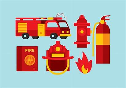 Fireman Tools Vector Clipart Edit System Vectors