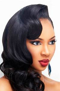 Wedding Hairstyles for Black Women, african american wedding haircuts