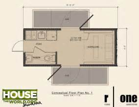 shipping containers tiny house living and floor plans on