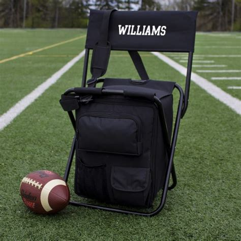 personalized tailgate backpack cooler chair birthday gift