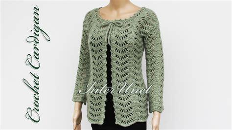 Lace Jacket Cardigan Crochet Pattern