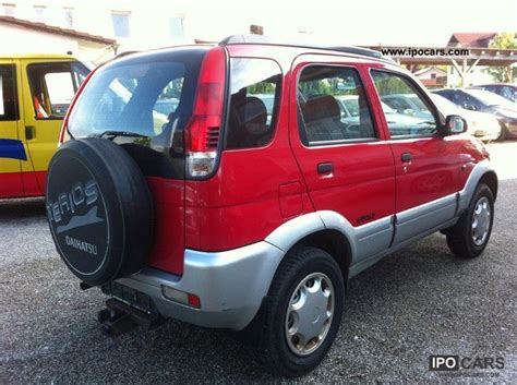 daihatsu terios 4x4 2001 daihatsu terios 4x4 cxl car photo and specs