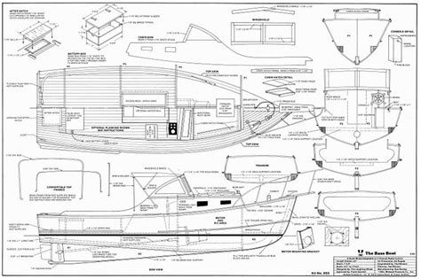 Rc Boats Plans Free by Bass Boat Plans Aerofred Free Model Airplane