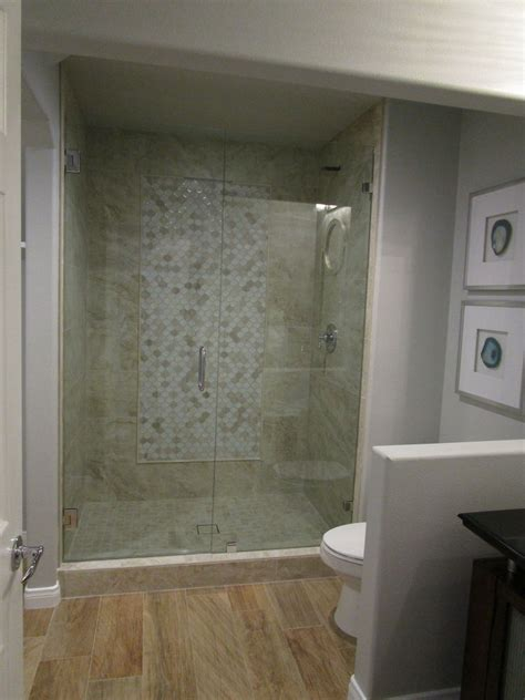 Bathroom Shower Ideas On A Budget by Guest Bathroom Update From Builder Basic To Wow On
