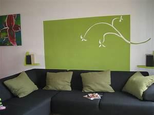 Decoration Mur Interieur Salon : mur du salon photo 3 3 d coration perso ~ Dailycaller-alerts.com Idées de Décoration