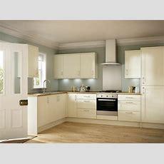 Kitchen Units  Cream Shaker Door New 18mm Rigid Built