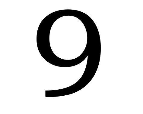 Number 9 Png Images Free Download, 9 Png