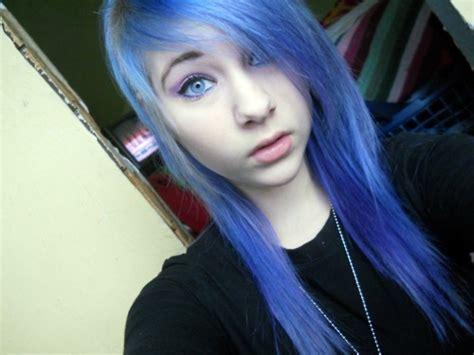 Blue Hair Wiki by Image Blue Hair Purple Hair Favim 429301 Jpg