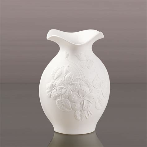 Porzellan Vasen kaiser porzellan vase floralie biskuit 25cm