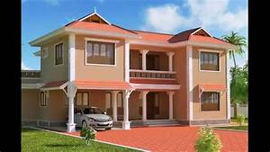 Exterior designs of homes houses paint ideas modern for South indian house painting pictures