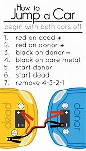 How To Jump Start A Car   Infographics