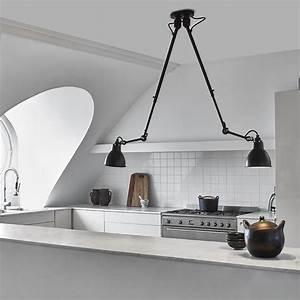Lampe Flexible Arme : gelenk deckenleuchte n 302 double mit zwei teleskop armen casa lumi ~ Sanjose-hotels-ca.com Haus und Dekorationen