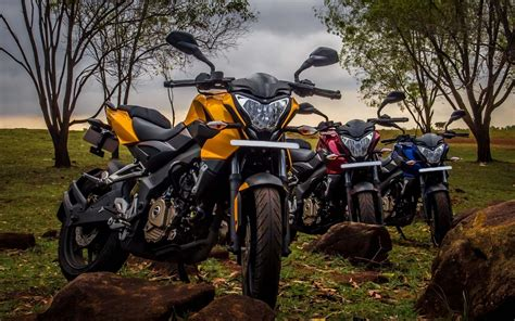 Colorful, Pulsar, Ns, Motorcycles, Widescreen, Full, Hd