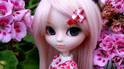 Doll Wallpapers Barbie Girly Face Dolls Pink