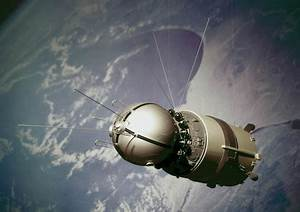 Vostok 1 capsule, 1961. at Science and Society Picture Library