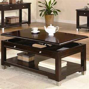 coffee tables ideas black espresso dark brown coffee With dark brown coffee table set
