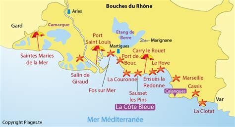 Carte Sud Cassis by Bouches Du Rhone Ville Voyages Cartes
