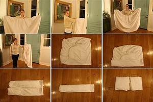 How To Fold A Fitted Sheet  Instructions For Couples And