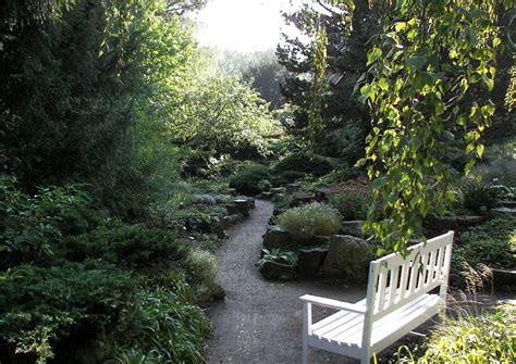 Gartenwege Anlegen Steingarten Endpunkt Ist Der Bankplatz