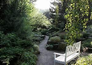 Wege Im Garten Anlegen : gartenwege anlegen steingarten endpunkt ist der bankplatz ~ Buech-reservation.com Haus und Dekorationen