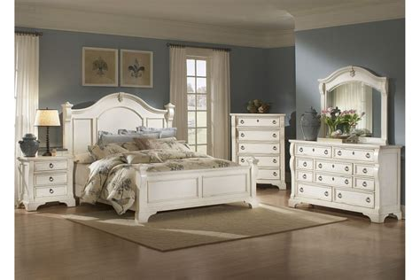 Antique White Bedroom Sets by American Woodcrafters Heirloom Collection Poster Bedroom