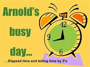 Arnolds Busy Day Telling Time