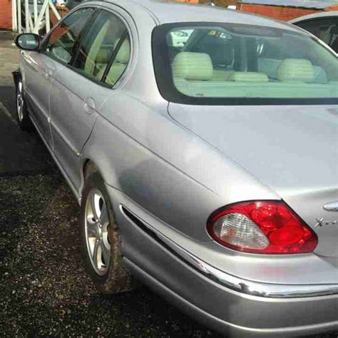 Jaguar 2001 X Type V6 Se Silver Accident Damage Salvage