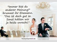Hochzeitswitze Lustige Sprüche zu Hochzeit & Ehe