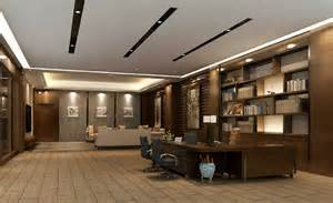 interior home design minimalist design for ceo office suspended ceiling 3d