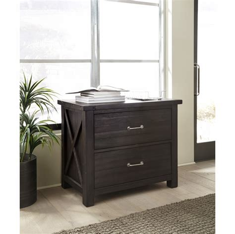 Solid Wood Lateral File Cabinet by Modus Furniture Yosemite Solid Wood Lateral File Cabinet