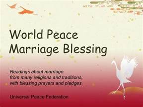 Marriage Blessings and Wedding