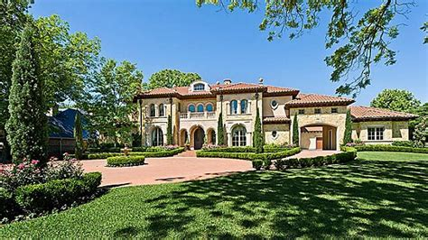 tuscan style mansion  dallas tx  bella custom homes