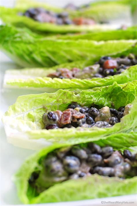 Beans Boats by Black Bean Salad Boats Recipe