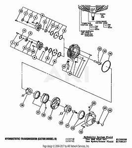 Troy Bilt 13076 20hp Hydro Garden Tractor  S  N