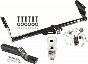 Complete Trailer Hitch Package W   Wiring Kit For 2004