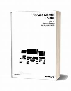 Volvo F10f12f16 Lhd Trucks Wiring Diagram Service Manual Download