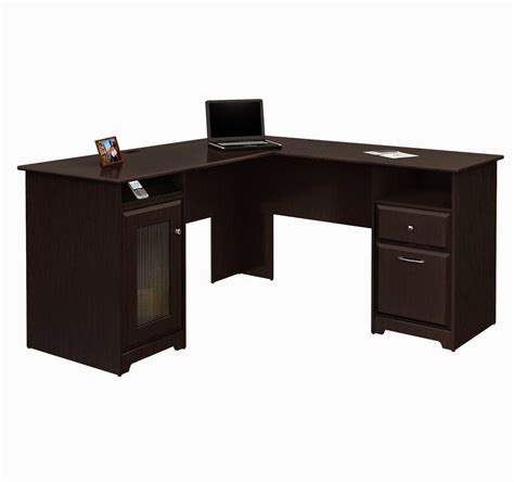 computer desk with hutch and file cabinet sectional espresso computer desk for small space with