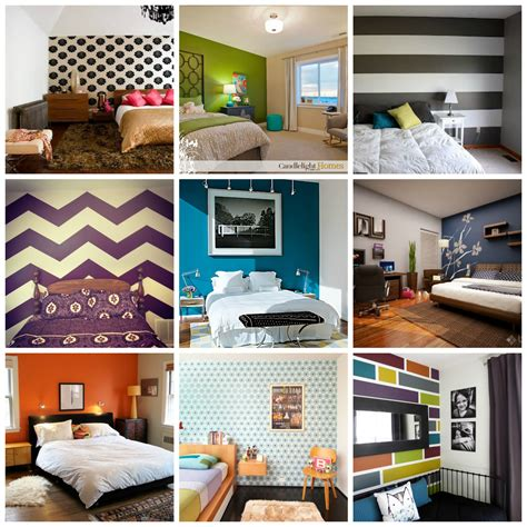 Paint Ideas Accent Wall Living Room Paint Ideas With