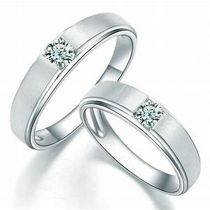 charming his and hers anniversary gift rings 020 carat With wedding ring for couples