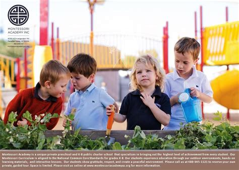 Montessori Academy  Private Preschool & Public K8