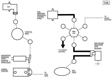 ford ranger engine vacuum hose diagrams