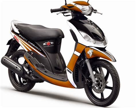 Yamaha Mio S Backgrounds by Yamaha Mio Sporty Modifikasi Thecitycyclist