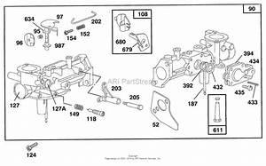 Diagram  3hp Briggs Stratton Lawn Mower Carburetor