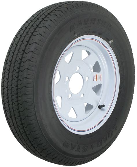 """Karrier St17580r13 Radial Trailer Tire With 13"""" White"""