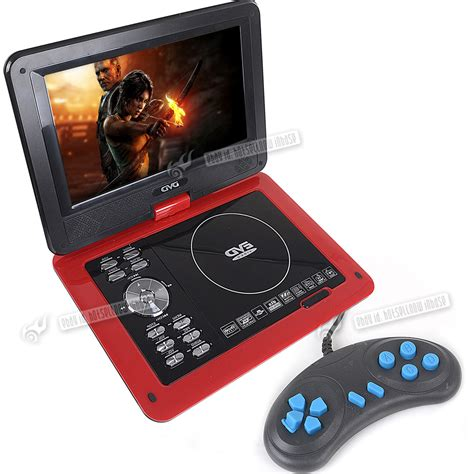 Portable Dvd Player For Car With Usb by 9 8 Quot Portable Dvd Player Rechargeable Swivel Screen In Car